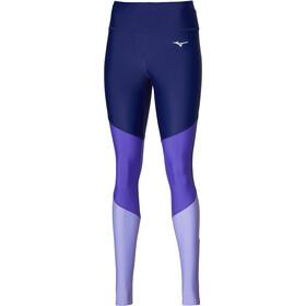 Mizuno Core Long Tights Women, violet/blauw